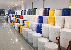 万博客户端手机版manbetx官方网站一楼涂料桶、机油桶展区