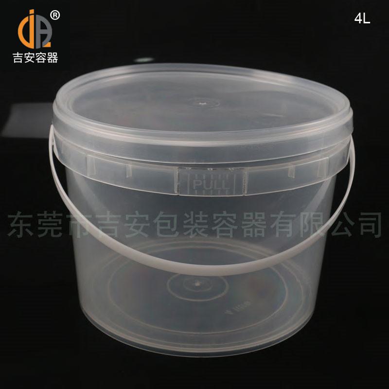 4L透明食品桶(F507)